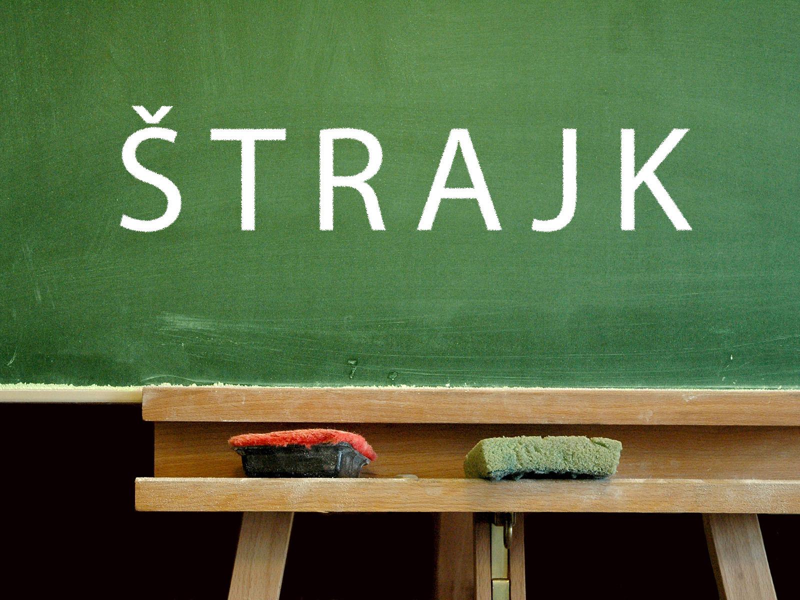 Image result for Å¡trajk prosvetara